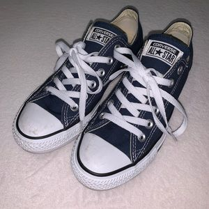 ✨HP!✨Converse All Star Navy Blue Low Top Sneaker